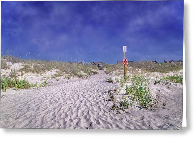 The Path Home Greeting Card by Betsy Knapp
