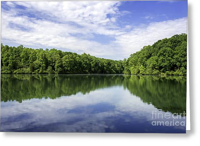 Tn Greeting Cards - The Peaceful Reflection Greeting Card by Desmond Lake