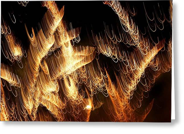 Best Sellers -  - Pyrotechnics Greeting Cards - The Pearl Shop Greeting Card by David Dunham