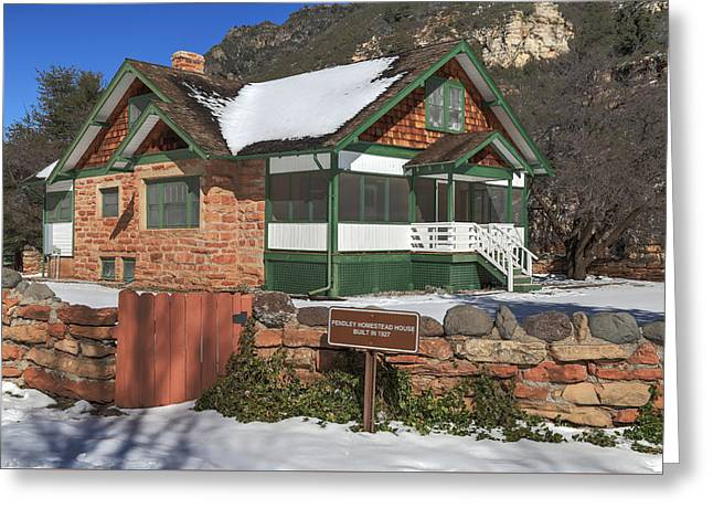 The Pendley Homestead Greeting Card by Donna Kennedy