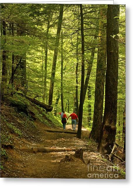 Hiking Greeting Cards - The Perfect Day Greeting Card by Paul W Faust -  Impressions of Light
