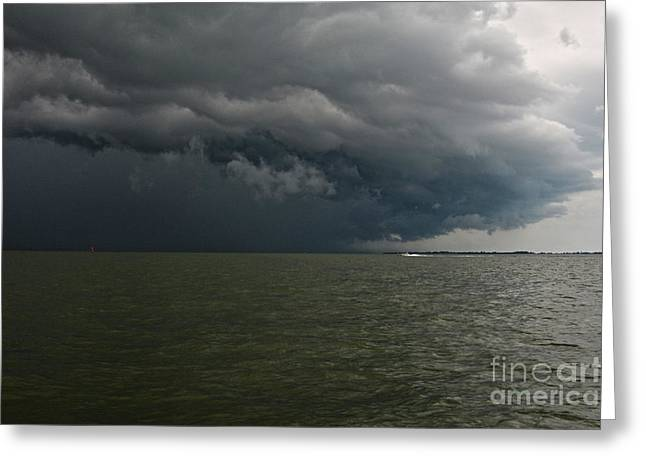Perfect Storm Greeting Cards - The Perfect Storm II Greeting Card by Christine  Dekkers