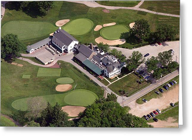 Golf Design Greeting Cards - The Philadelphia Cricket Club Wissahickon Clubhouse Greeting Card by Duncan Pearson