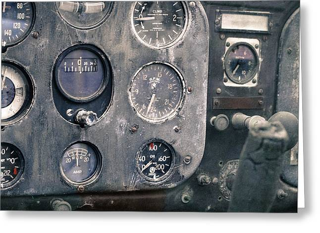 Military Airplanes Greeting Cards - The Pit  Greeting Card by Steven  Digman