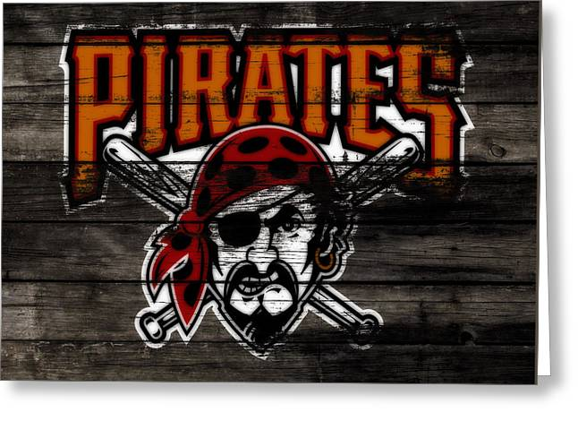 The Pittsburgh Pirates 1d Greeting Card by Brian Reaves