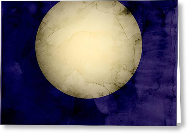 The Planet Venus Greeting Card by Michael Tompsett