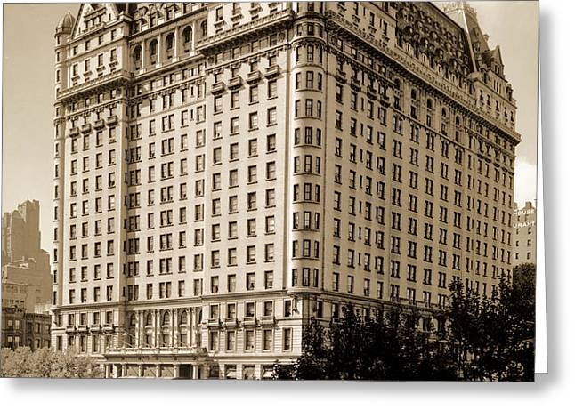 The Plaza Hotel Greeting Card by Henry Janeway Hardenbergh