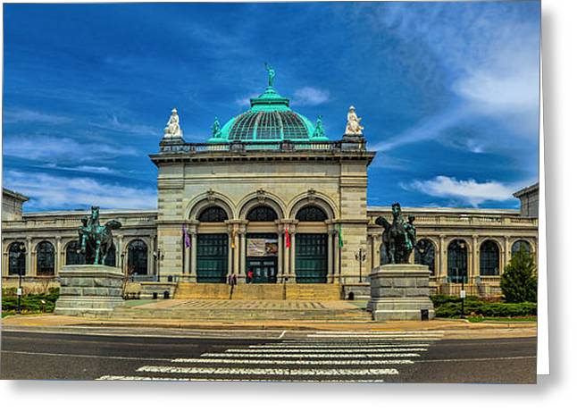 Fairmount Park Greeting Cards - The Please Touch Museum Greeting Card by Nick Zelinsky
