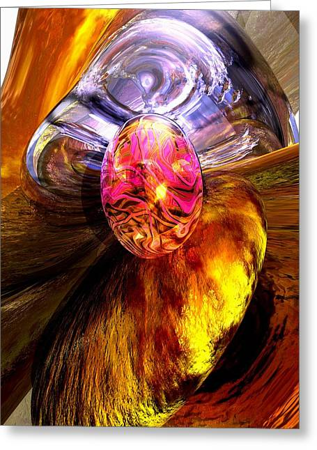 Precious Gem Greeting Cards - The Pleasure Palace Greeting Card by Alexander Butler