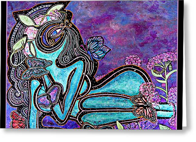 Plight Greeting Cards - The Plight Of The Butterfly Greeting Card by Devora Rotering