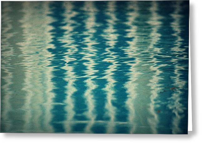 Pool Greeting Cards - The Pool Party Greeting Card by Mandy Shupp
