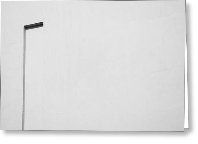 Element Of Light Greeting Cards - The positives of negative space Greeting Card by Prakash Ghai