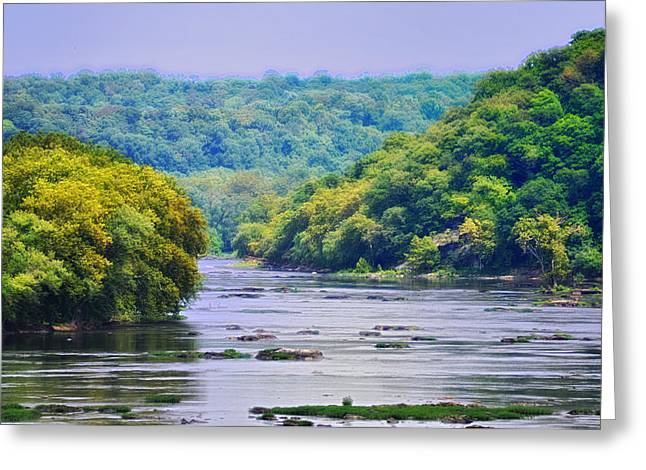 Harpers Ferry Digital Greeting Cards - The Potomac Greeting Card by Bill Cannon
