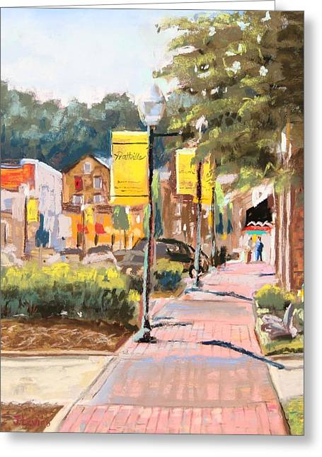 Alabama Pastels Greeting Cards - The Preferred Community Greeting Card by Jennifer Levins