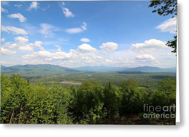 Beauty Greeting Cards - The Presidential Range from Weeks State Park  Greeting Card by Neal  Eslinger