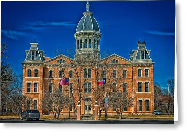 The Presidio County Courthouse Greeting Card by Mountain Dreams