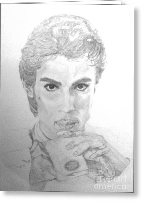 The Prince Greeting Card by Nancy Rucker