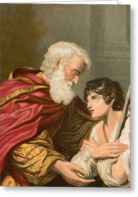 The Prodigal Son Greeting Card by Lionello Spada