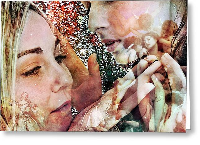 Self-knowledge Digital Art Greeting Cards - The Prophet on Beauty Greeting Card by Barry Novis