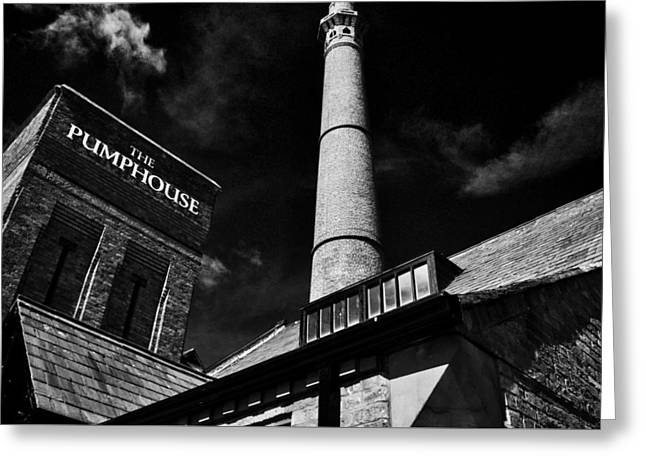 The Pumphouse - Liverpool Greeting Card by Colin Perkins