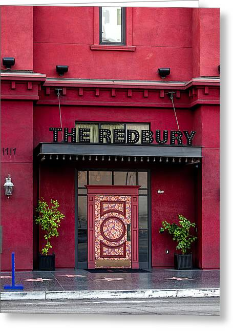 Hollywood Walk Of Fame Greeting Cards - The Redbury Greeting Card by Art Block Collections