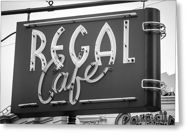 Store Fronts Greeting Cards - The Regal Greeting Card by Perry Webster