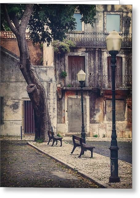 Drama Photographs Greeting Cards - The Resting Place  Greeting Card by Carol Japp
