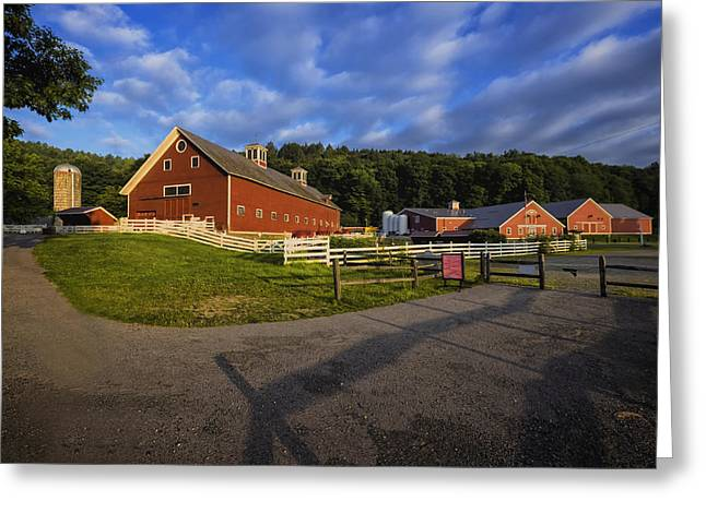 Grafton Vermont Greeting Cards - The Retreat Farm Greeting Card by Tom Singleton