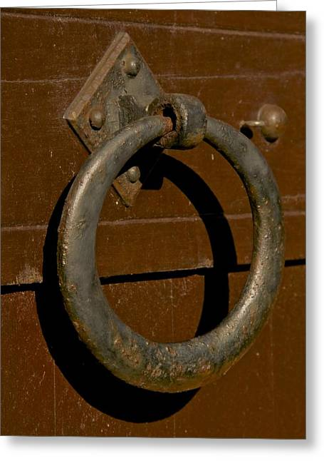 Pull Greeting Cards - The Ring Greeting Card by Odd Jeppesen