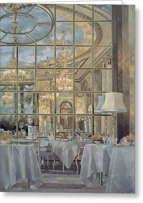 The Ritz Greeting Card by Peter Miller