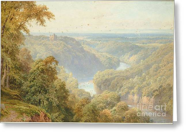 The River Ure Greeting Card by Harry Sutton