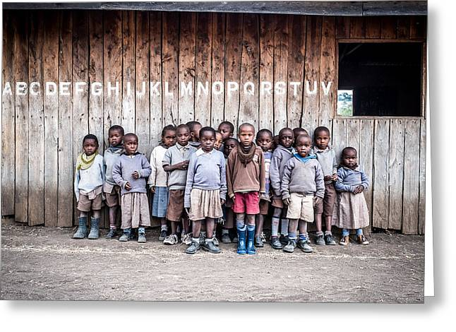 Child Photographs Greeting Cards - The Road To The Future Greeting Card by Francesco Fratto