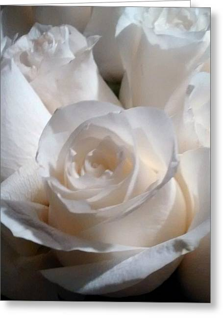 The Rose Greeting Card by Bruce Lennon