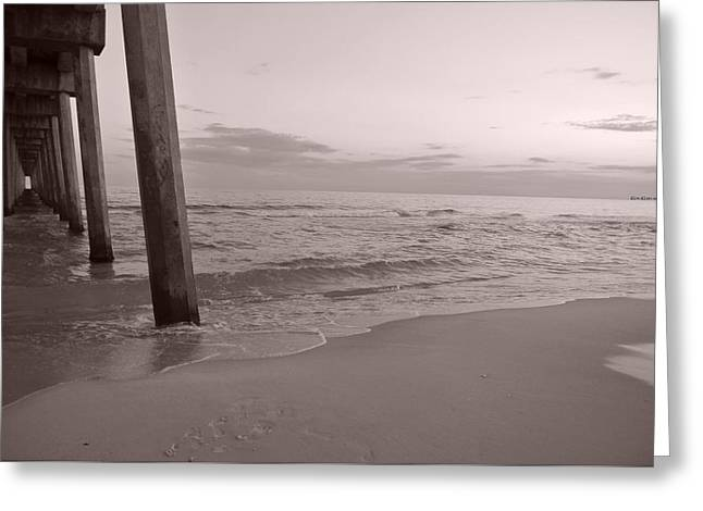 Beach Photography Greeting Cards - The Rosie Shore Greeting Card by Henry Happeny