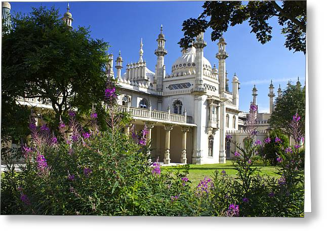 Princes Greeting Cards - The Royal Pavillion Brighton Greeting Card by Venetia Featherstone-Witty