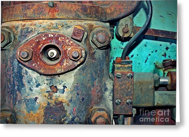 Rust Greeting Cards - The Rusted Parts Greeting Card by Tara Turner