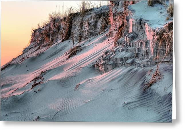 The Sands of Time Greeting Card by JC Findley