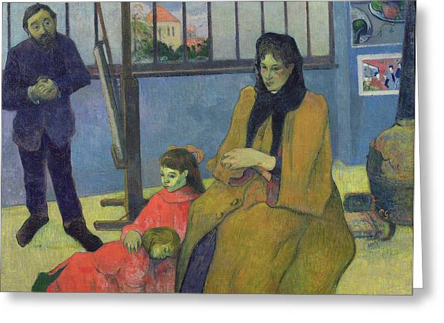 The Schuffenecker Family Greeting Card by Paul Gauguin