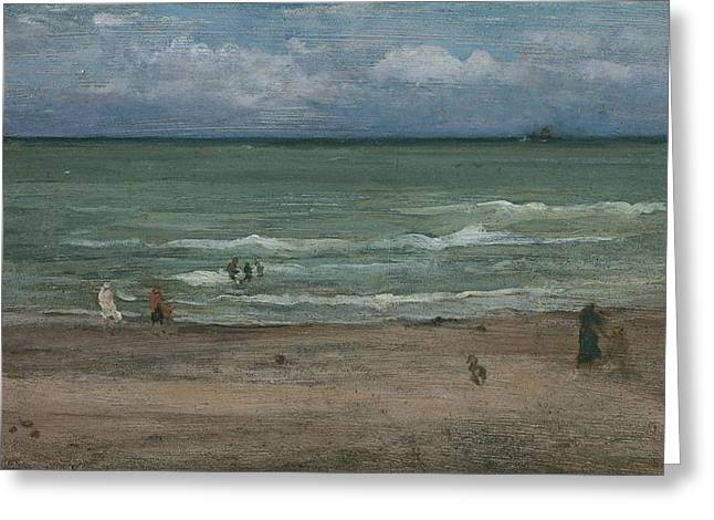 Sea View Greeting Cards - The Sea Greeting Card by James Abbott McNeill Whistler