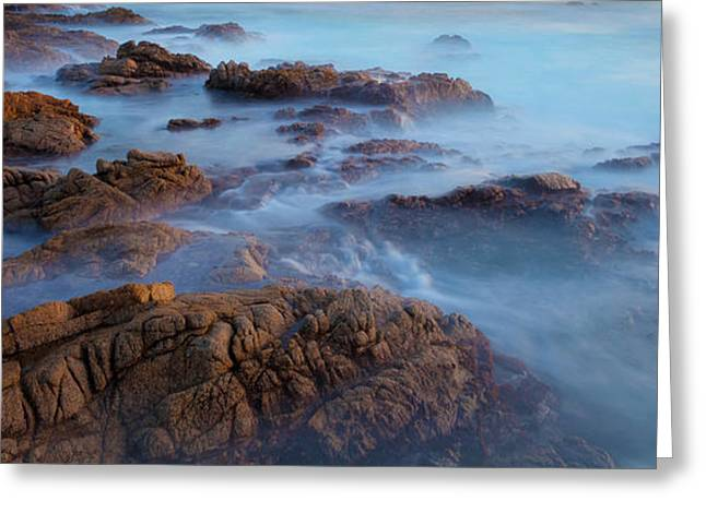 Big Sur Beach Greeting Cards - The Sea Melody Greeting Card by Jonathan Nguyen