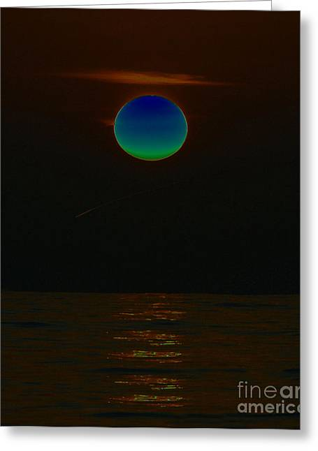 Sea Of Tranquility Greeting Cards - The Sea of Tranquility Greeting Card by David Lee Thompson