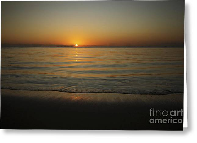 Amazing Sunset Greeting Cards - The Setting Sun Greeting Card by Brandon Tabiolo - Printscapes