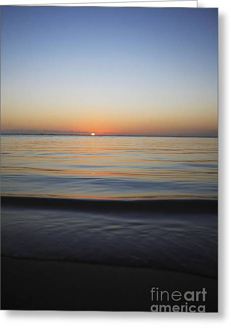 Amazing Sunset Greeting Cards - The Setting Sun II Greeting Card by Brandon Tabiolo - Printscapes