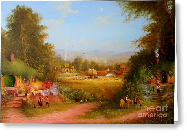 The Shire. Greeting Card by Joe  Gilronan
