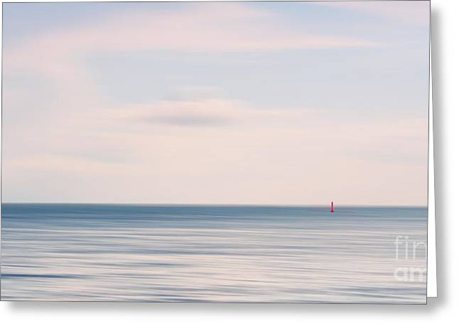 North Sea Greeting Cards - The silence Greeting Card by Angela Doelling AD DESIGN Photo and PhotoArt
