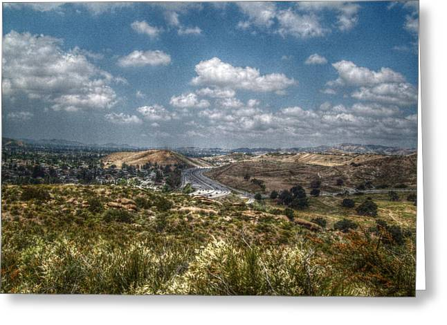 Recently Sold -  - Ventura California Greeting Cards - The Simi Valley Greeting Card by Cindy Nunn