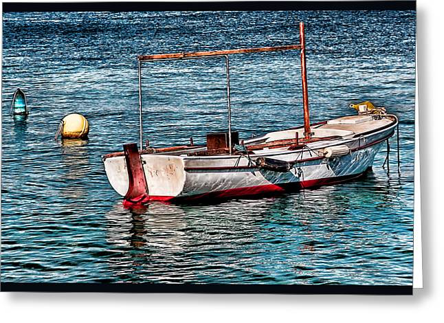 Artistic Landscape Photos Greeting Cards - The simple life Mykonos Greeting Card by Tom Prendergast