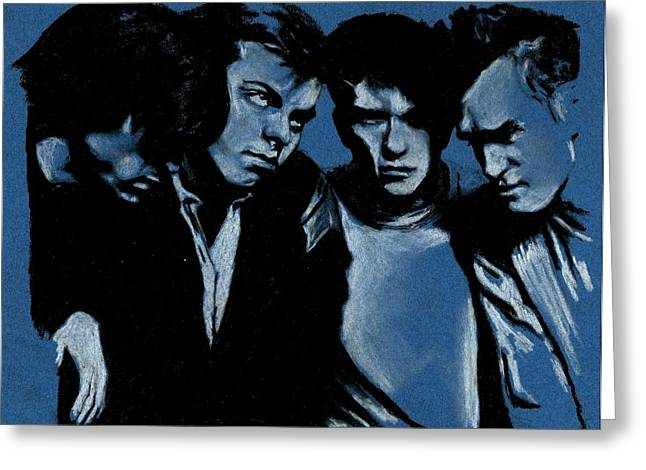 Rourke Greeting Cards - The Smiths Greeting Card by Teresa Beveridge