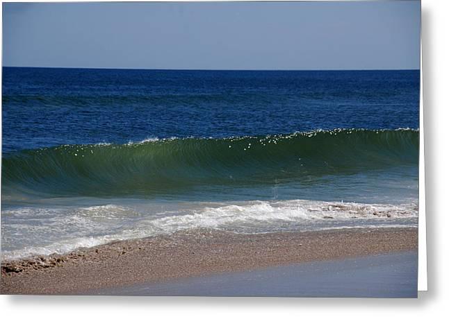The Song Of The Ocean Greeting Card by Susanne Van Hulst