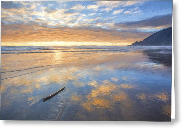 The Song's End II Greeting Card by Jon Glaser